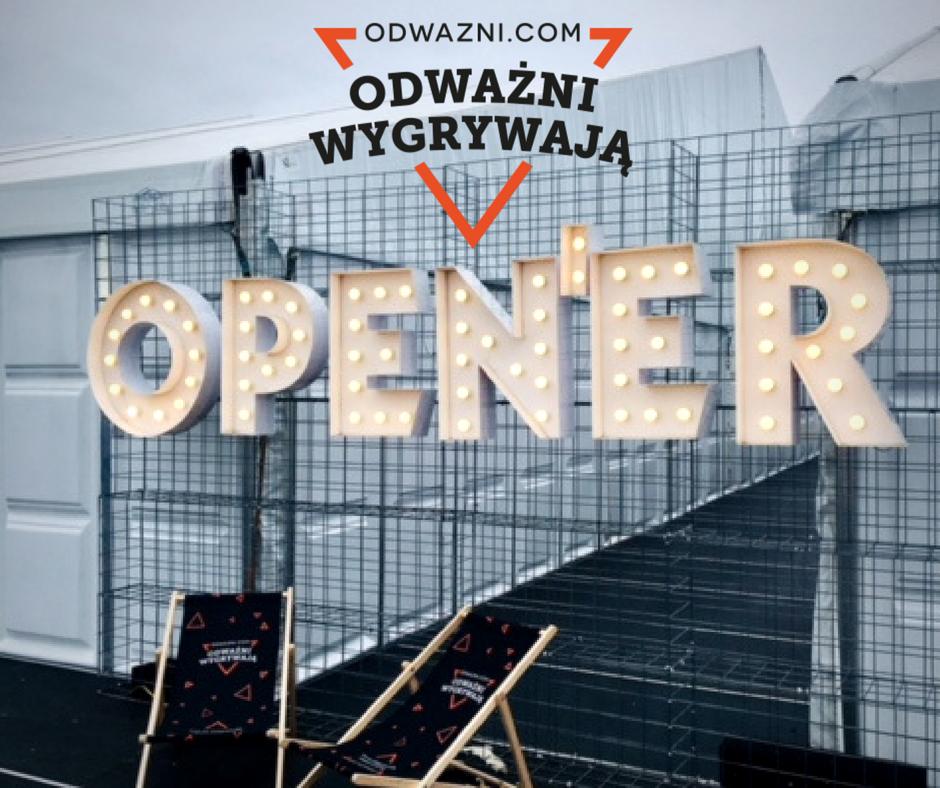 Odważni Wygrywają na Open'er Festiwal 2018