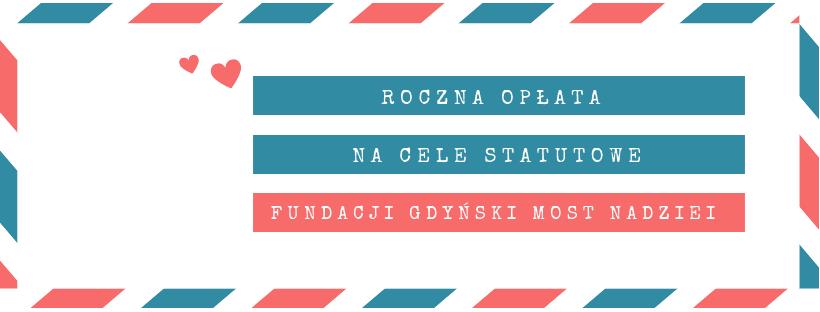 Roczna opłata na cele statutowe Fundacji, 2020