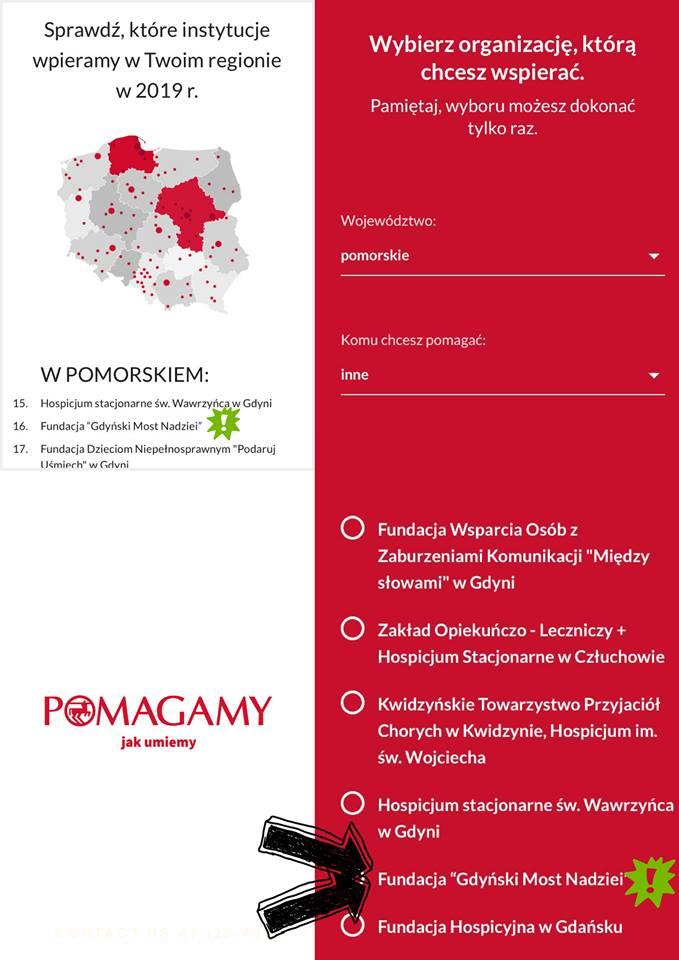 """Rossmann pomaga! a Ty wskaż w aplikacji Fundację """"Gdyński Most Nadziei""""!"""