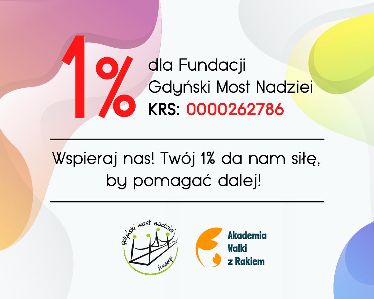 """1% podatku dla Fundacji """"Gdyński Most Nadziei"""" to 100% pomocy"""